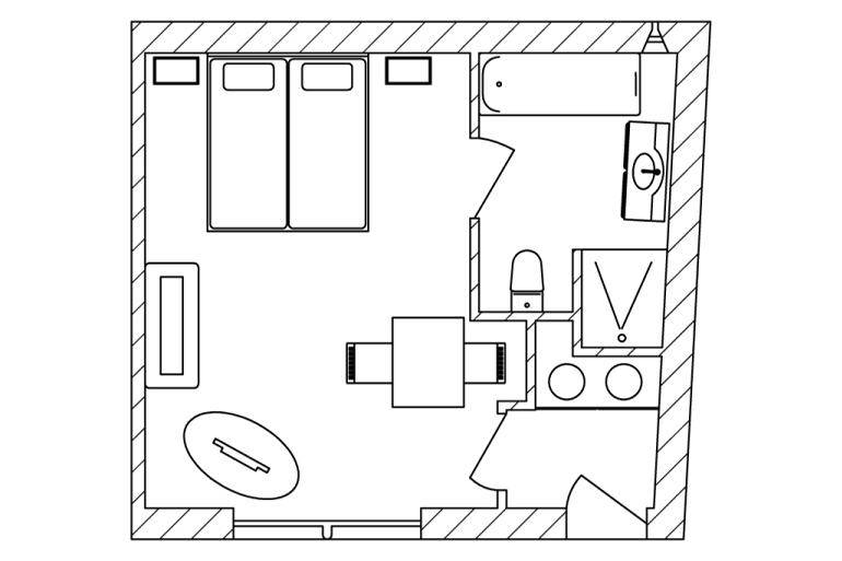 kamer-magnolia-plattegrond